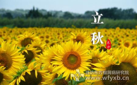 今年几日立秋_今年的8月7日是立秋节气,立秋意味着暑去秋来.